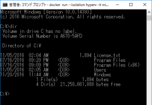 hyperv-container