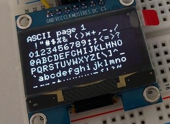 HiLetGo の OLED の動作確認